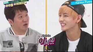 Video K-POP Idols BTS V [Taehyung] Funny Moments download MP3, 3GP, MP4, WEBM, AVI, FLV September 2018