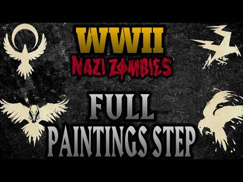 Call of Duty WW2 Zombies: Full Paintings Step (Voice of God)