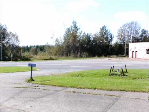 A view on the corner of Cupp and Development, former Loring AFB, Sept. 19, 2011