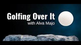 {중괄호} Golfing Over It speedrun 3:23.166 {Golfing Over It with Alva Majo}