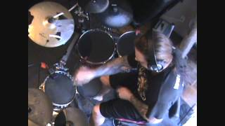 "Dark funeral ""My Dark Desires"" Electric Drum Cover"