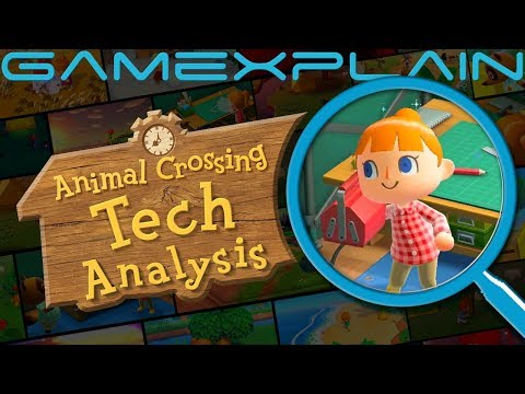 A Generational Leap! Animal Crossing: New Horizons Early Graphics Tech Analysis (Reveal Trailer)