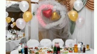 Оформление Свадебного Зала Шарами Фото