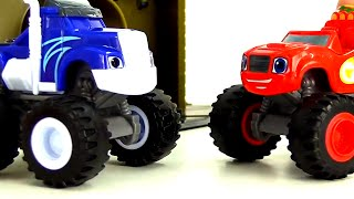 Blaze and the Monster Machines toys - Big trucks for kids - Monster trucks for kids  in English