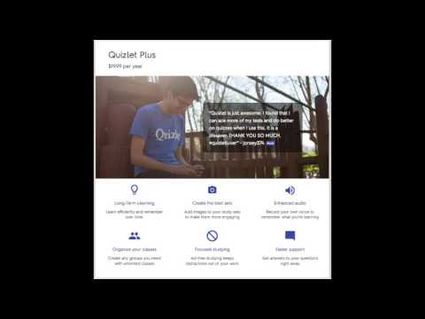 Quizlet – Online Tools for Teaching & Learning