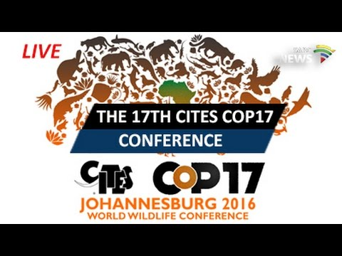 The17th CITES COP17 Conference opening ceremony