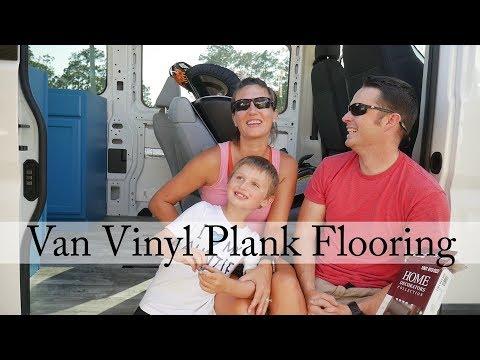 How to build a Campervan: Part 11 - Vinyl Plank Floor Install