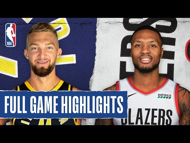 PACERS at TRAIL BLAZERS | FULL GAME HIGHLIGHTS | January 26, 2020