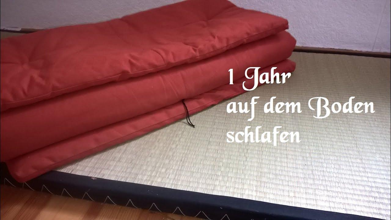 nach einem jahr auf den boden schlafen das ergebnis youtube. Black Bedroom Furniture Sets. Home Design Ideas