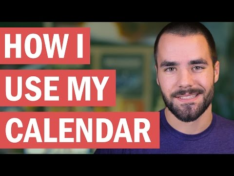 How I Use My Calendar Efficiently - College Info Geek