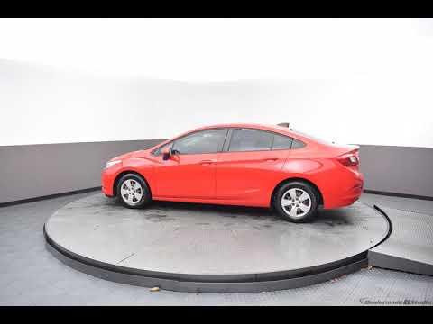 2016 Red Chevrolet Cruze 4D Sedan #N6112A