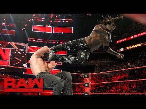 R-Truth vs. Elias: Raw, Aug. 21, 2017