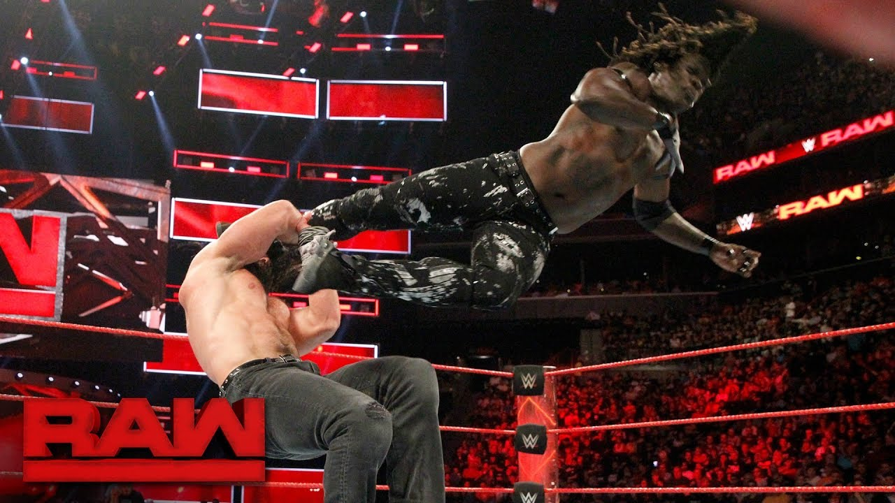 R-Truth vs. Elias: Raw, Aug. 21, 2017