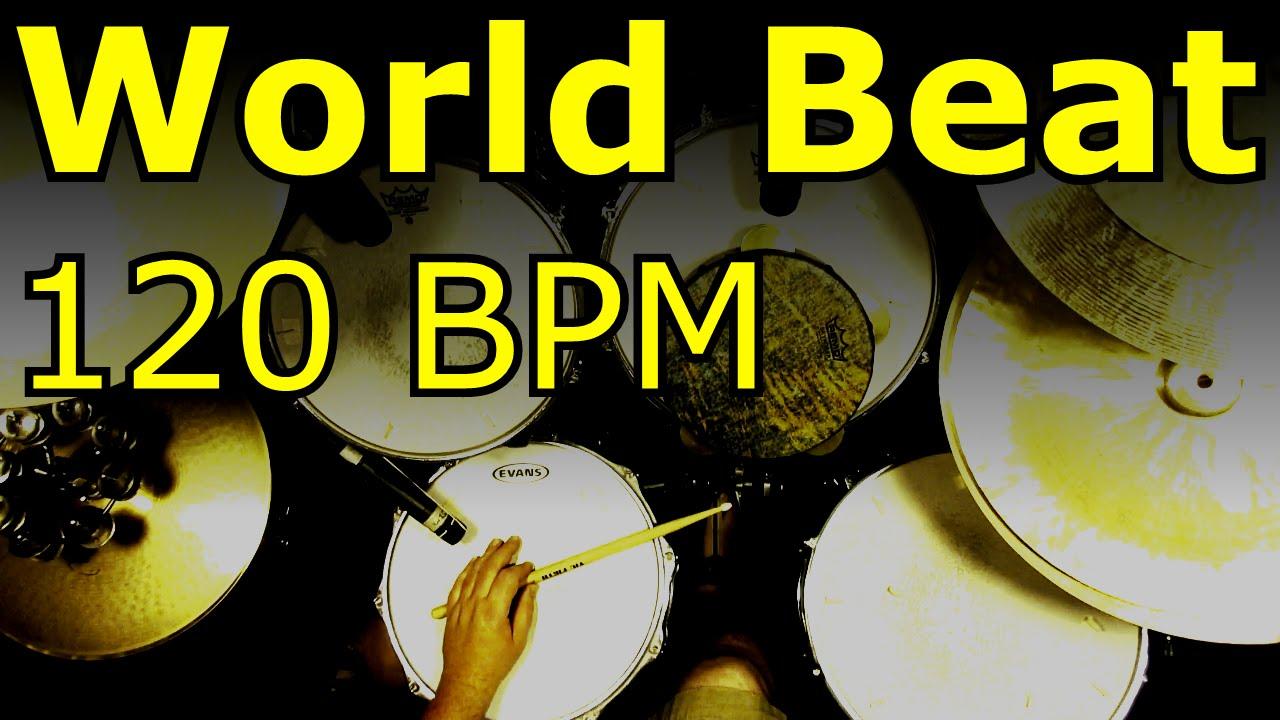 World Beat - Drum loops - 120 BPM