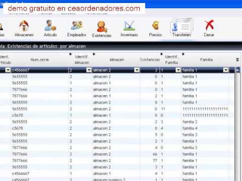 Software control de inventario de almacen online for Software di architettura gratuito online
