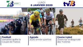 7/8 Sports. Emission du lundi 6 janvier 2020