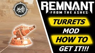 Remnant: From The Ashes | Iron Sentinel, Turret Mod and Howler's Immunity - How to get it!