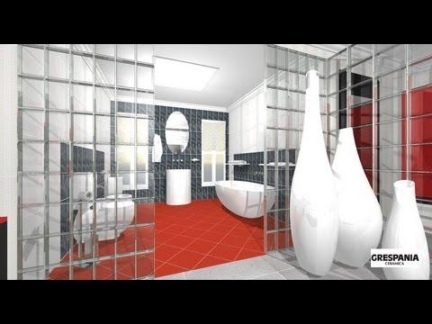 Dise o de dormitorio vestidor y cuarto de ba o youtube - Fotos cuartos de bano ...