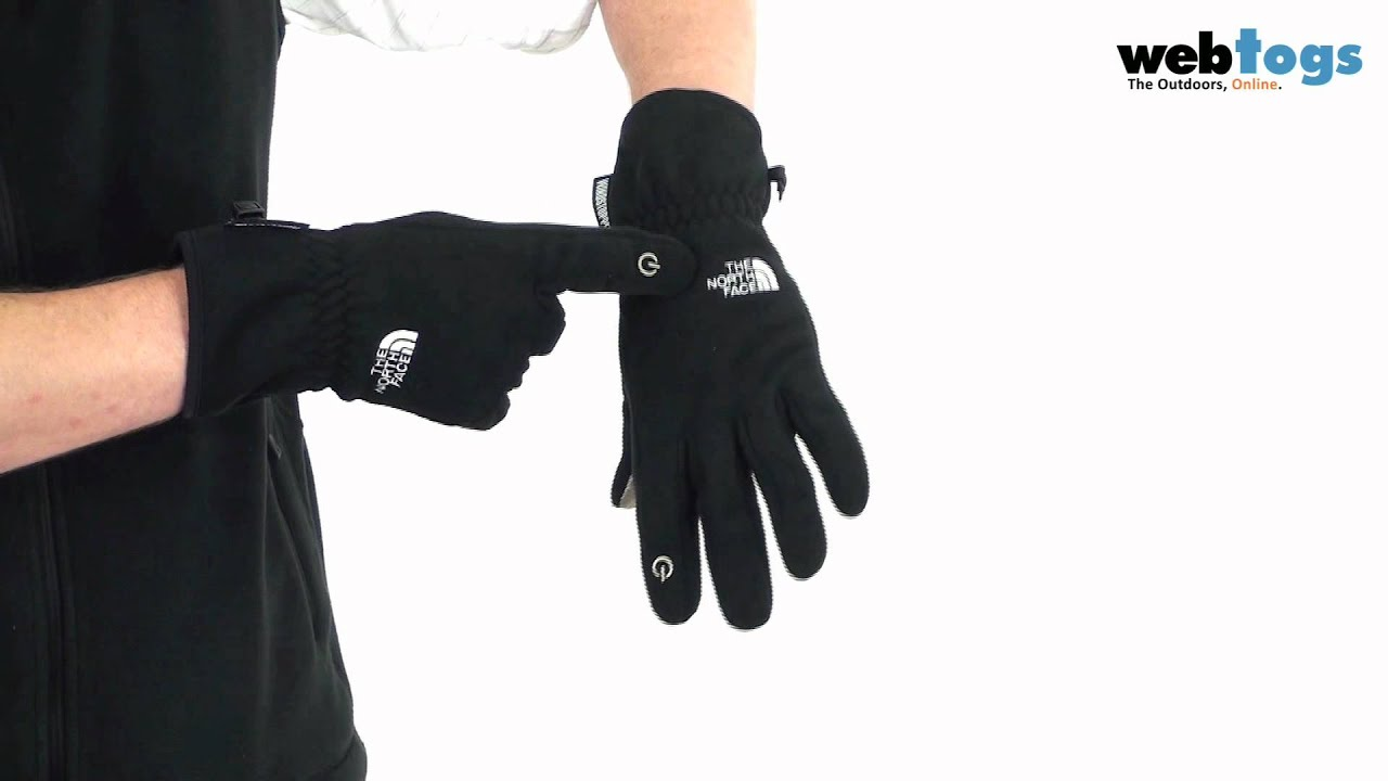 Mens gloves use iphone - The North Face Etip Pamir Windstopper Gloves Windproof Protection For Touchscreen Using Fingers