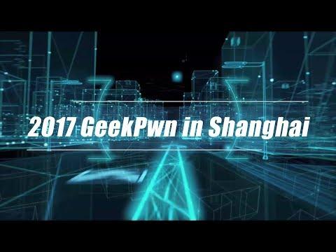 Live: 2017 GeekPwn in Shanghai 2017 极棒嘉年华登陆上海