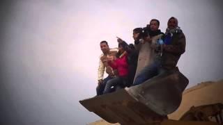 قناة السويس الجديدة : فيديو حصرى الصحفيين فى السكينة بيعملو أيه؟