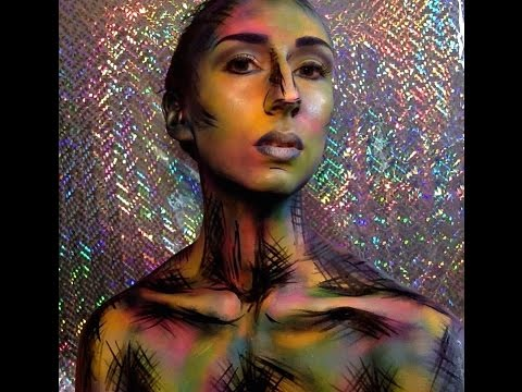 Abstract Body Paint How To Demo Youtube