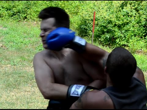 Backyard Boxing backyard boxing: big mike vs joey d - youtube