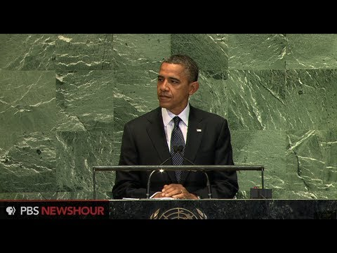 Watch President Obama Address the U.N. General Assembly