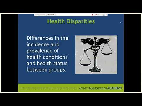 Health and Equity in Transportation Course Overview Webinar