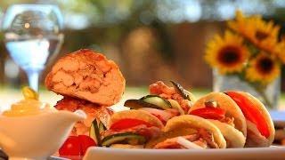 Choumicha : Batbouts farcis au poulet à la façon Chawarma شميشة : بطبوط محشو بشاورما الدجاج