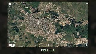 Тюмень - от 1984 до 2017 года. Застройка и население. Часть №2