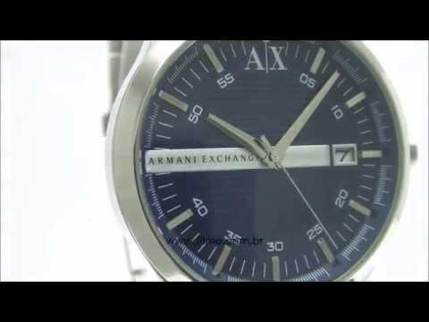 d80d2cdff1e Relógio Armani Exchange AX2132 1AN - YouTube