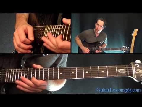 Slash – Anastasia Guitar Lesson Pt.3 – First Solo