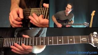Slash - Anastasia Guitar Lesson Pt.3 - First Solo