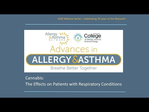 Cannabis  The Effects on Patients with Respiratory Conditions