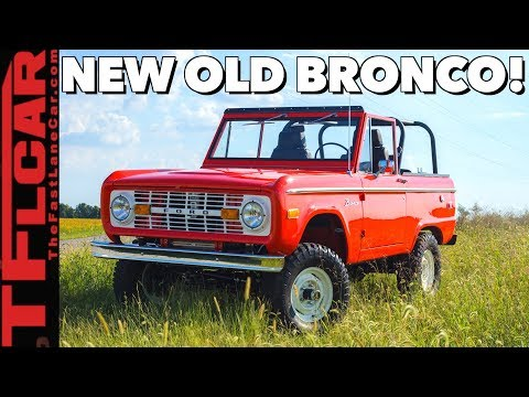 Here's the Inside Story on the NEW $120K old Bronco and Bronco Raptor!