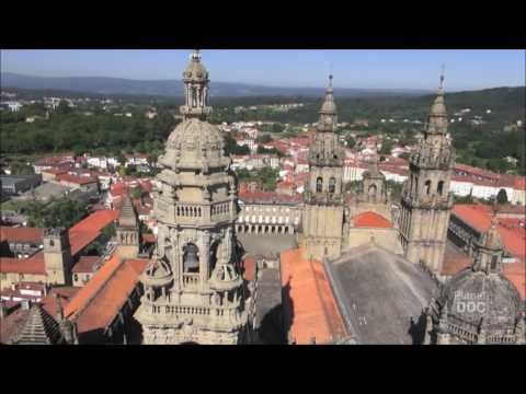 Fachada del Obradoiro Catedral de Santiago de Compostela