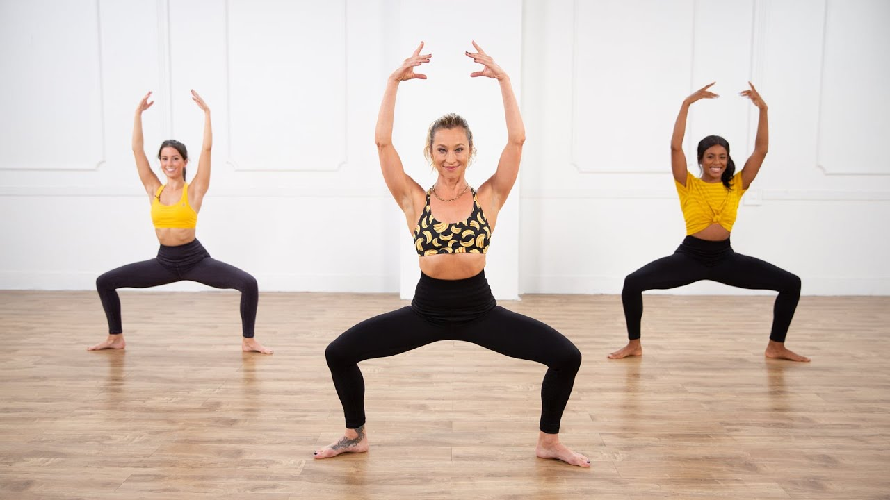 10-Minute Standing Barre Core Workout