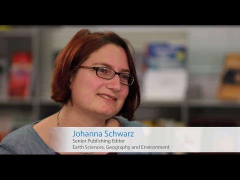 Publish with Springer in Earth Sciences & Geography - Johanna Schwarz