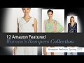 12 Amazon Featured Women's Rompers Collection Amazon Fashion, Spring 2017