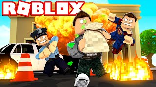 ROBBER EVERYTHING POSSIBLE! -Roblox Mad City English