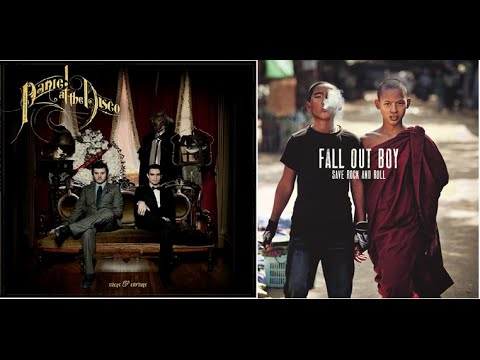 The Mighty Fall of Mona Lisa - Fall Out Boy and Panic! At the Disco Mashup - Shannen Godwin