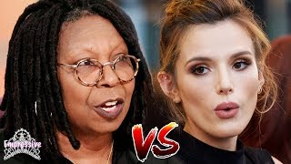 Whoopi Goldberg gets dragged for shaming Bella Thorne | Is Whoopi right or wrong?