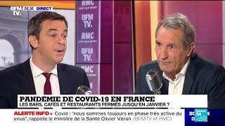 Covid-19 en France : les bars, cafés et restaurants fermés jusqu'en janvier ?