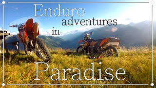 Enduro adventures in Paradise