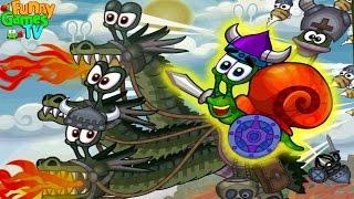 УлиткаБоб 5 Игра мультик для детей про Улитку веселый добрый детский развивающий мультик для малышей