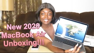 2020 MacBook Air Unboxing! | Silver 13' MacBook Air | Simply Cinn