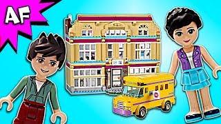 Lego Friends Heartlake Performance School 41134 Speed Build