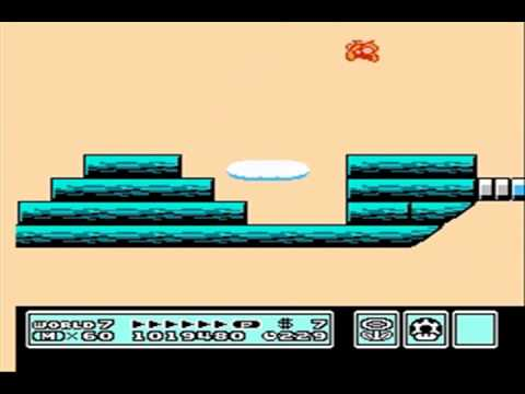 Super Mario Bros 3 World 7 Airship Youtube