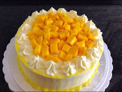How To Make Mango Birthday Cake